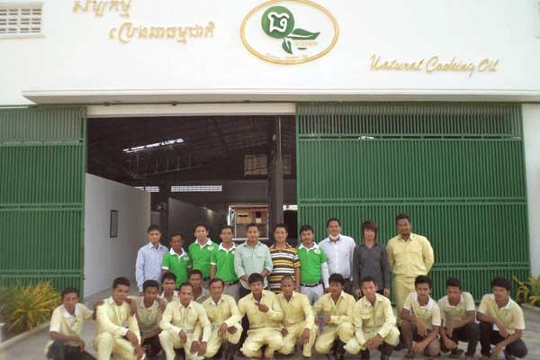 柬埔寨大豆油生产线